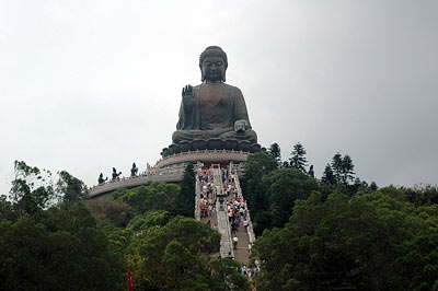 The Big Buddha, Hong Kong