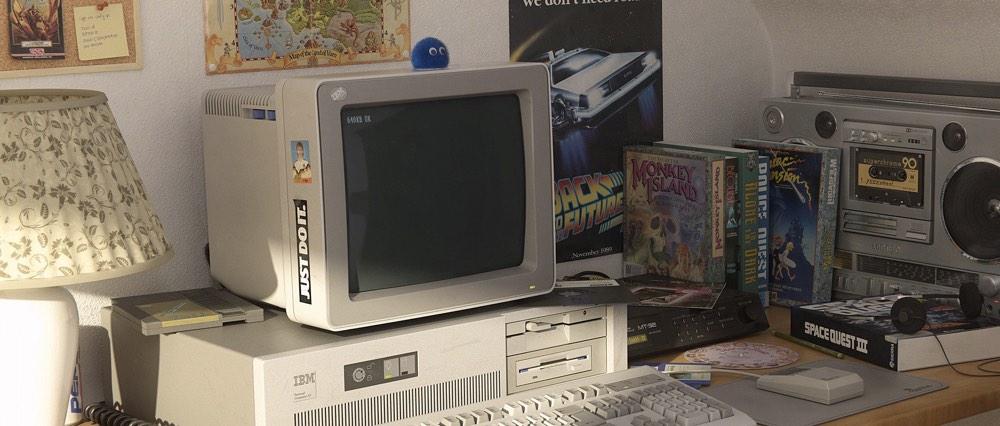 1991 Computer Render