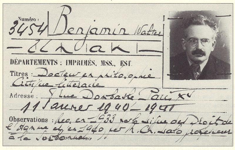 Walter Benjamin Library Card.jpg