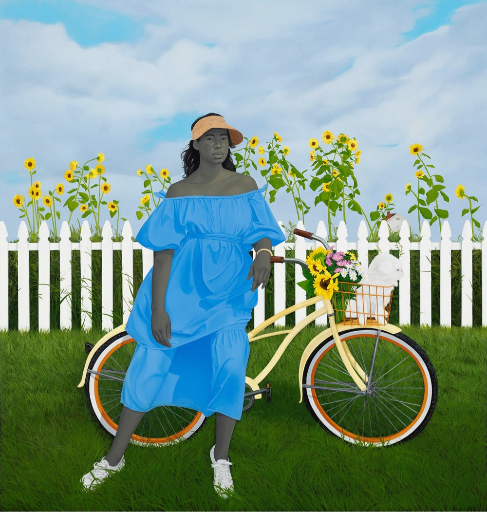 Amy Sherald painting