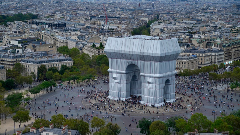 L'Arc de Triomphe, Wrapped by Christo and Jeanne-Claude