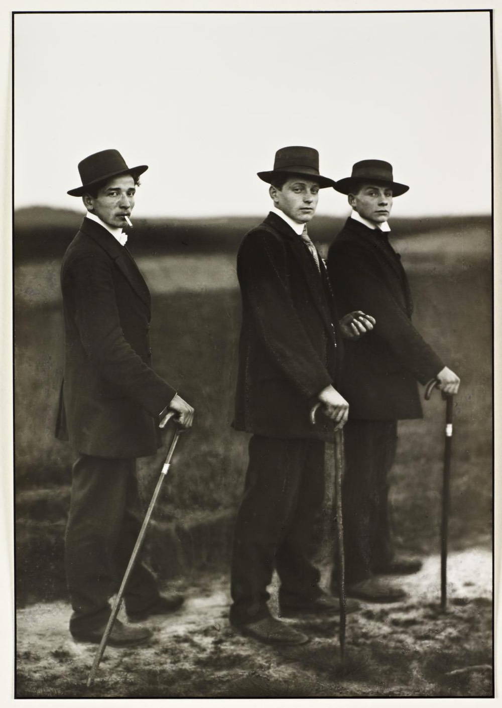 August Sander Young Farmers