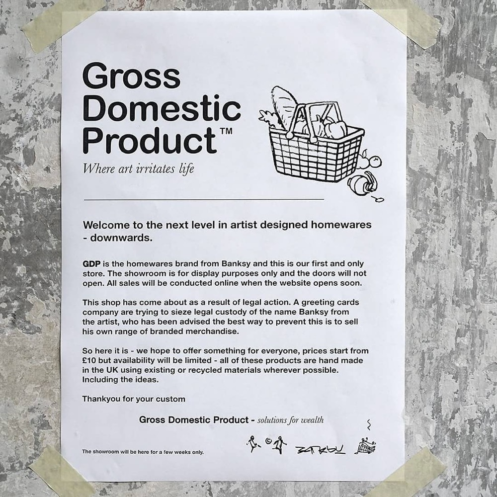 Banksy Gross Domestic Product