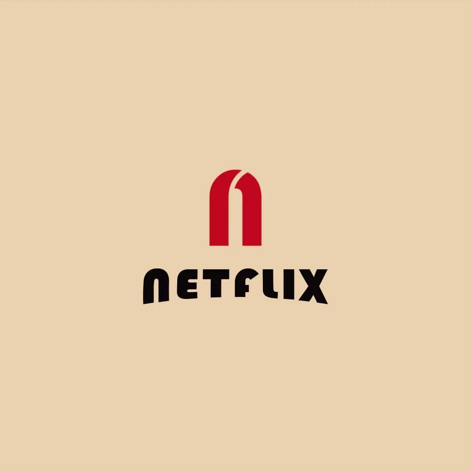 Bauhaus-Style Logos of Famous Brands