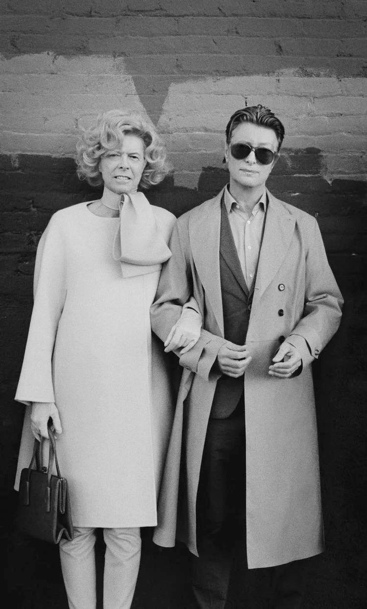David Bowie as Tilda Swinton and Tilda Swinton as David Bowie