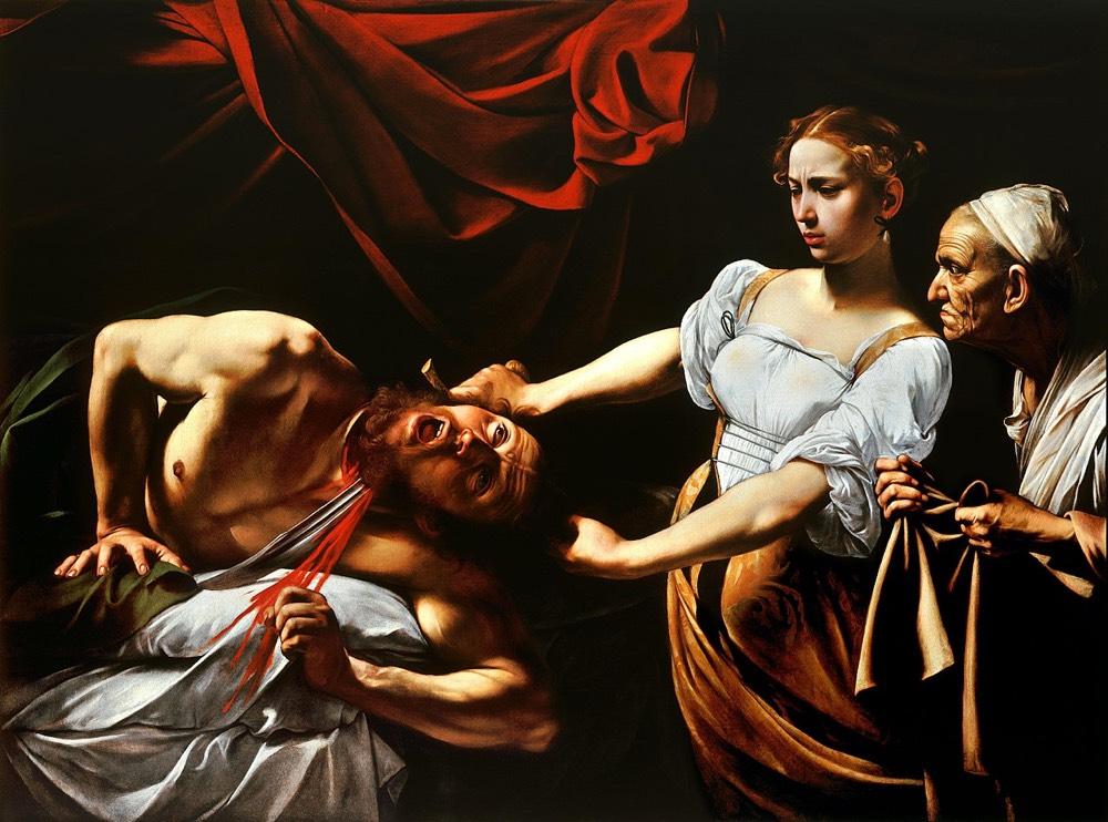 Artemisia Gentileschi's Judith Slaying Holofernes