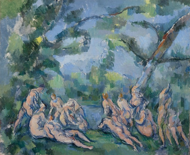 Understanding Art Cezanne S The Large Bathers