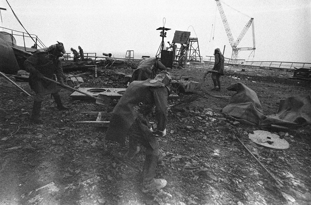 Photos from the Chernobyl Disaster in 1986
