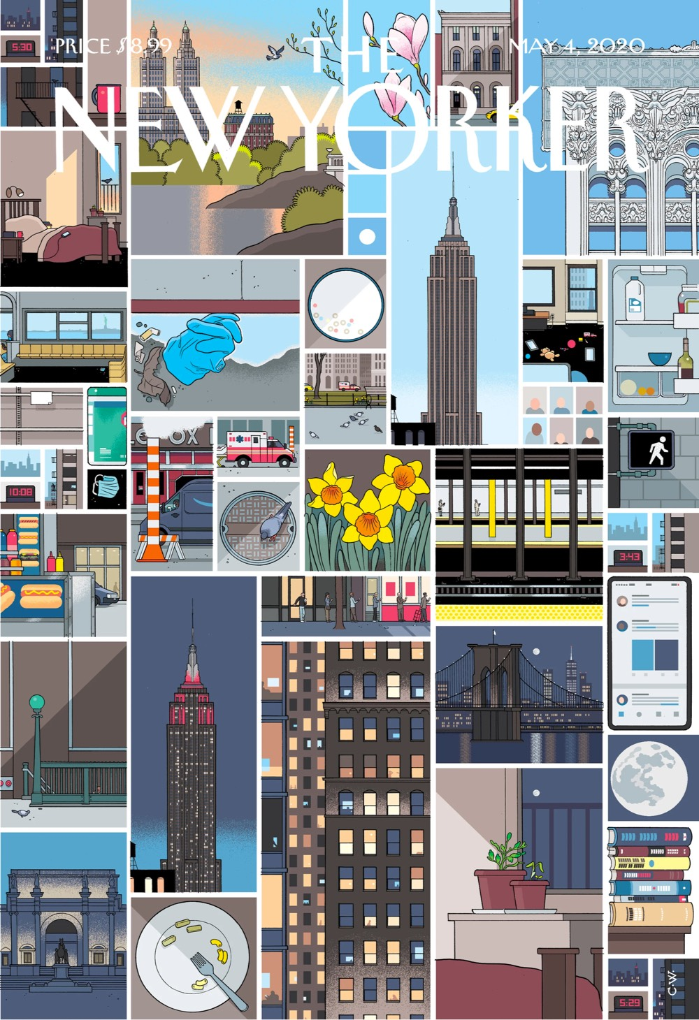 Chris Ware's Still Life of NYC