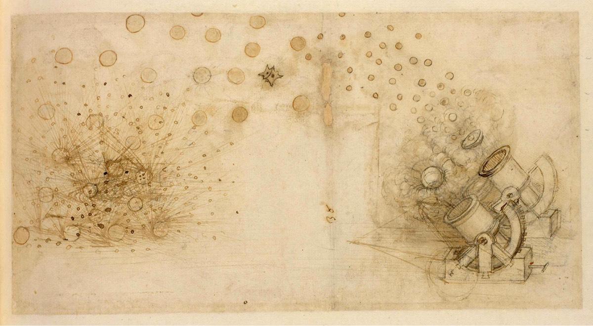 Explore Leonardo da Vinci's Codex Atlanticus Online