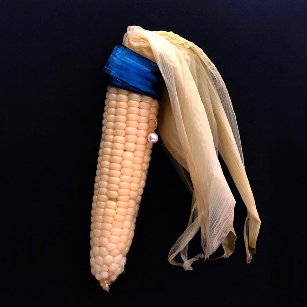 Corn with a Pearl Earring