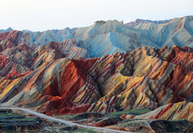 Danxia Mountains