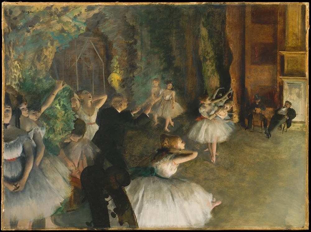 Degas Dance Painting