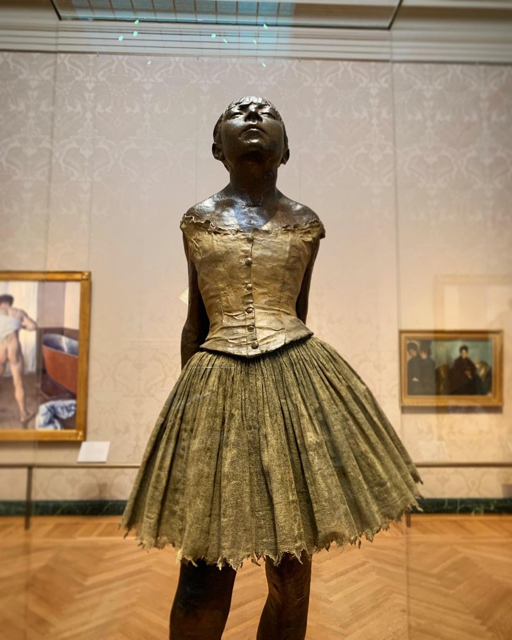 La Petite Danseuse de Quatorze Ans by Edgar Degas