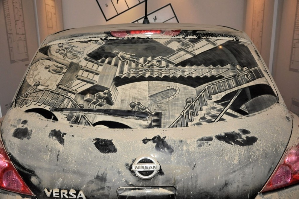 The Dirty Car Artist
