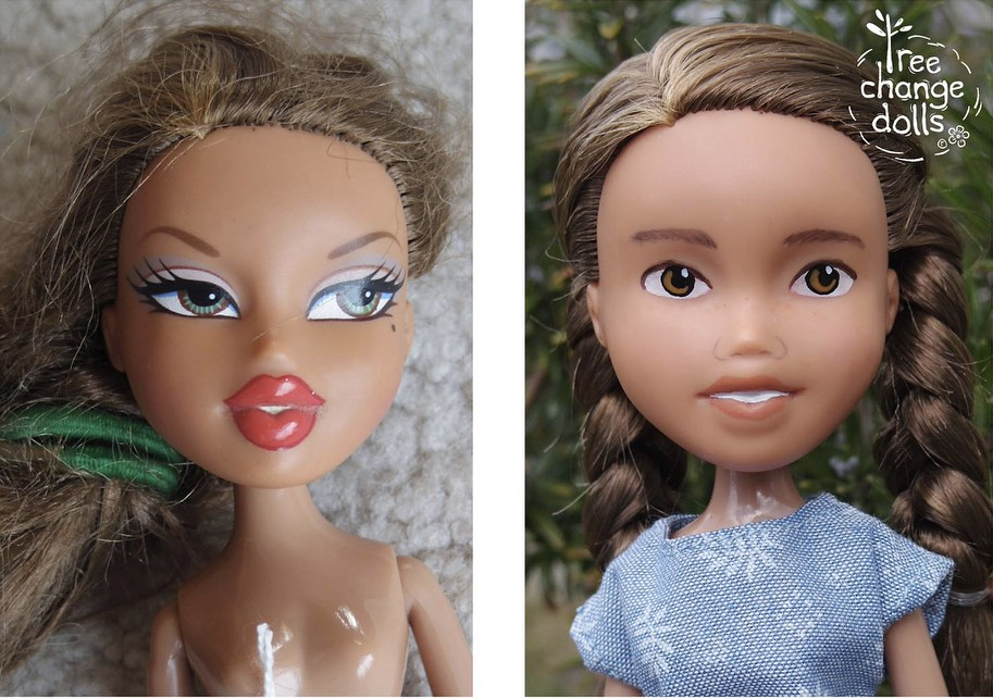 How To Remove Paint From Barbie