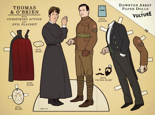 Downton cutouts