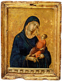Madonna and Child by Duccio