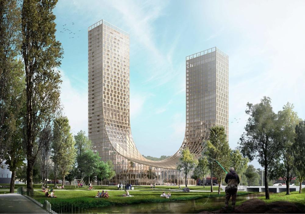 A Dutch Timber Skyscraper