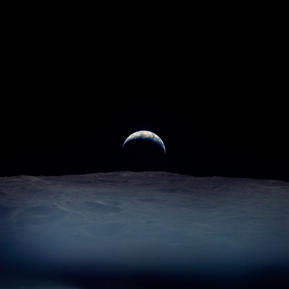 50 Lovingly Restored Photographs of the Earth Taken by Apollo Astronauts