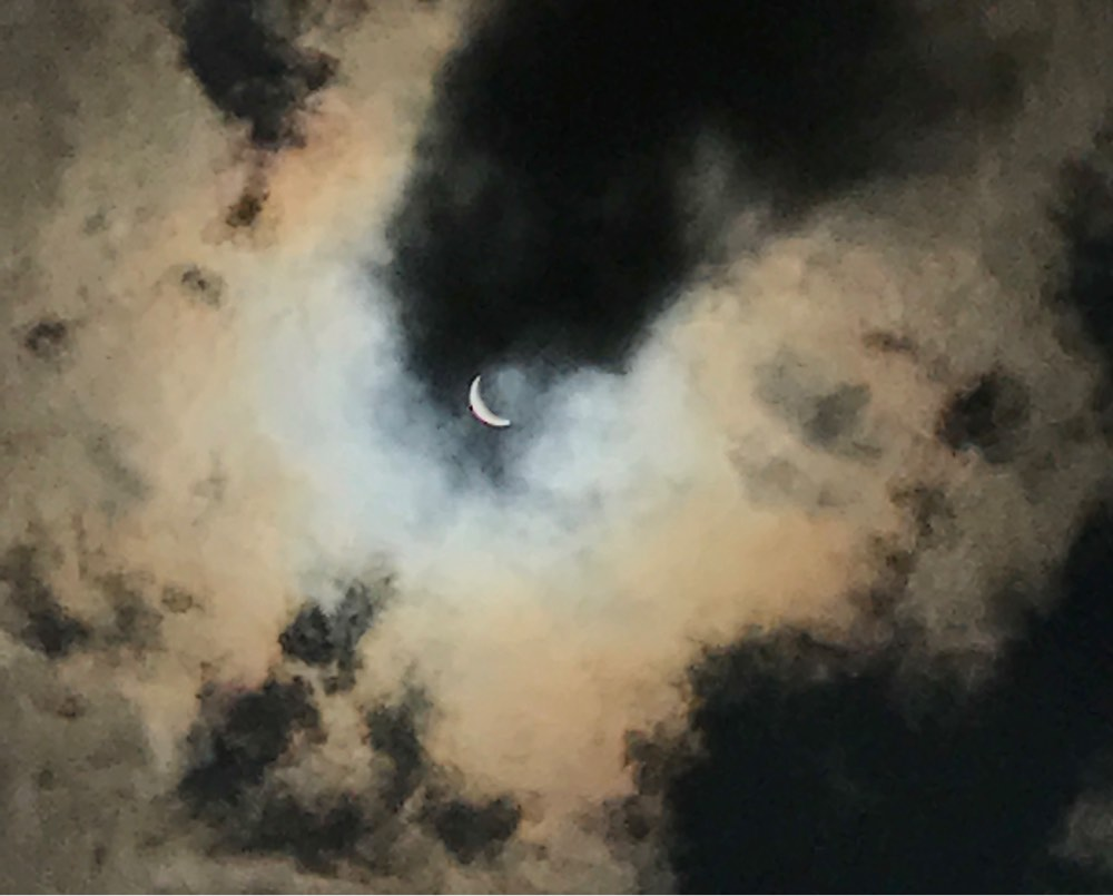 Eclipse 2017 Clouds