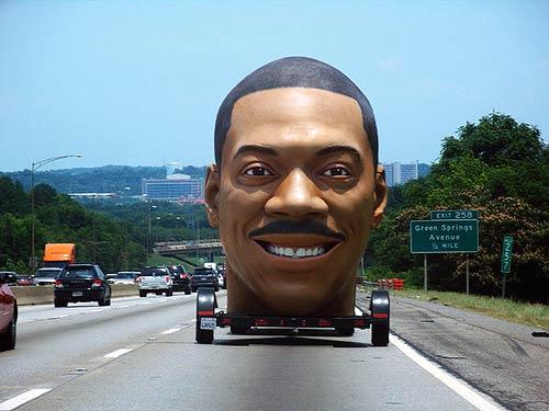 Eddie Murphy Giant Head