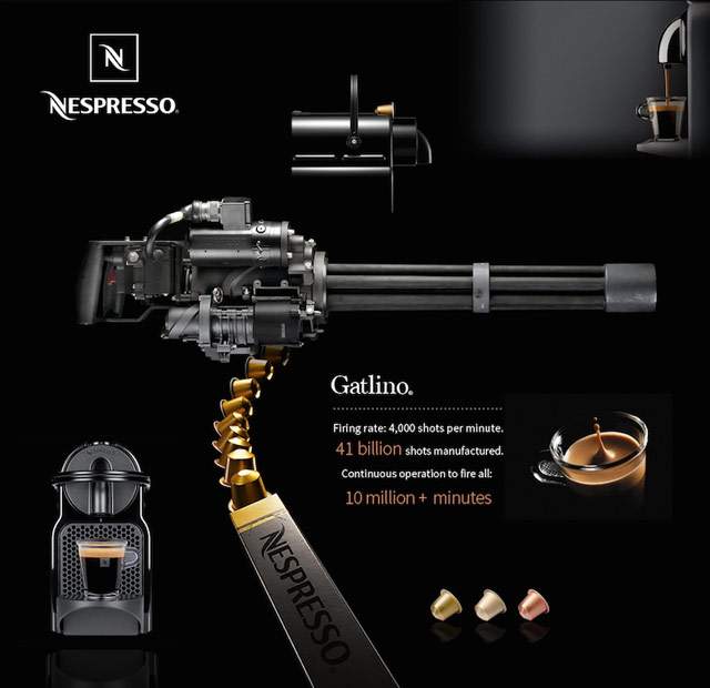 Espresso Machine Gun
