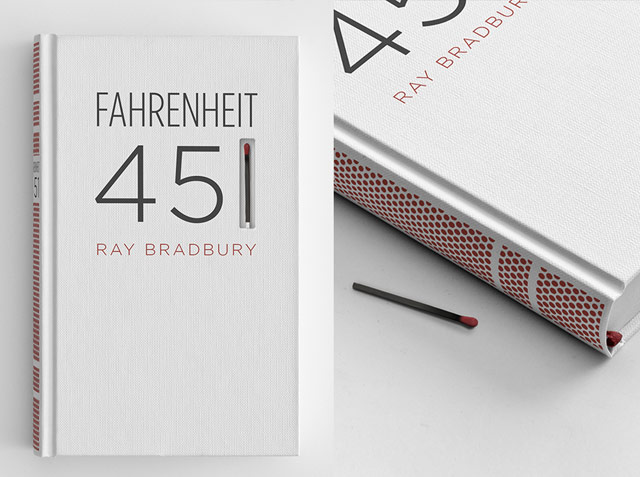 Fahrenheit 451 with match