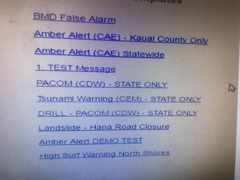 Fake Hawaii Missile Alert