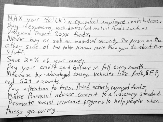 All the personal finance advice you'll ever need