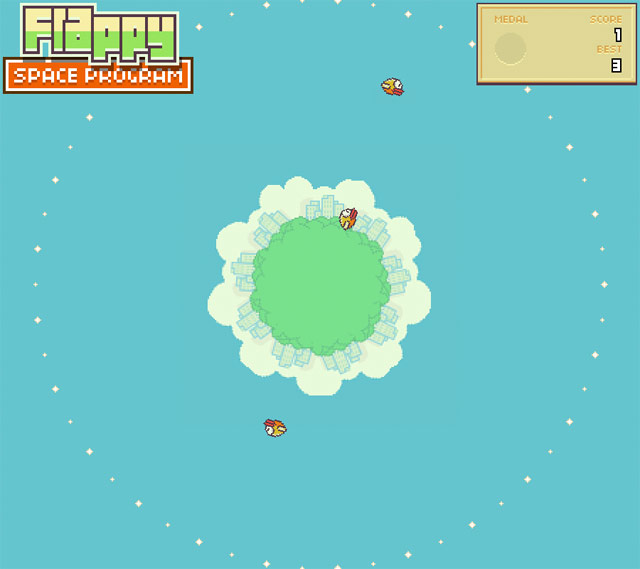Flappy Bird Space Program