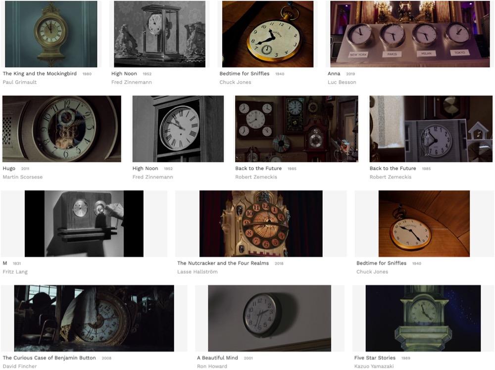 Flim, an Intelligent Movie Screenshot Search Engine