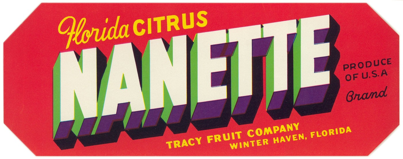 Fruit Crate Labels