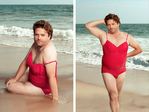 Zach Galifianakis swimsuit calendar