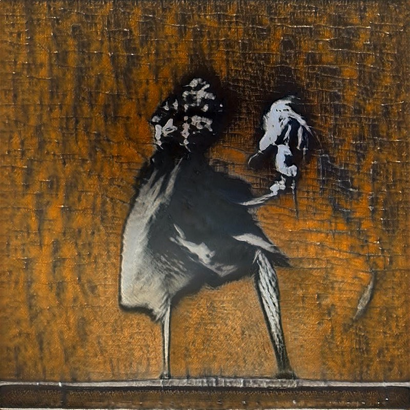 GANksy - an AI Street Artist that Emulates Banksy