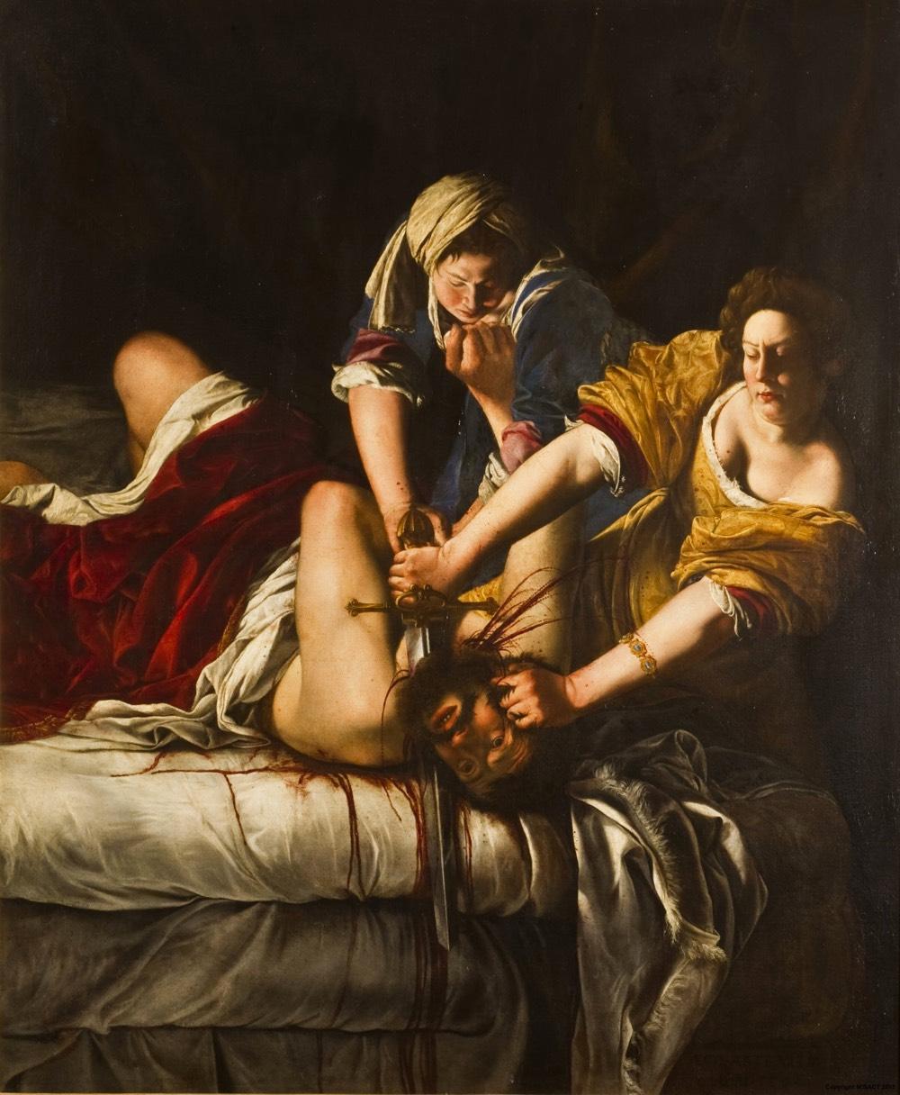 Judith slaying holofernes story