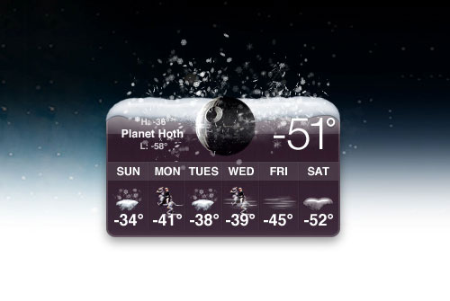 Hoth weather