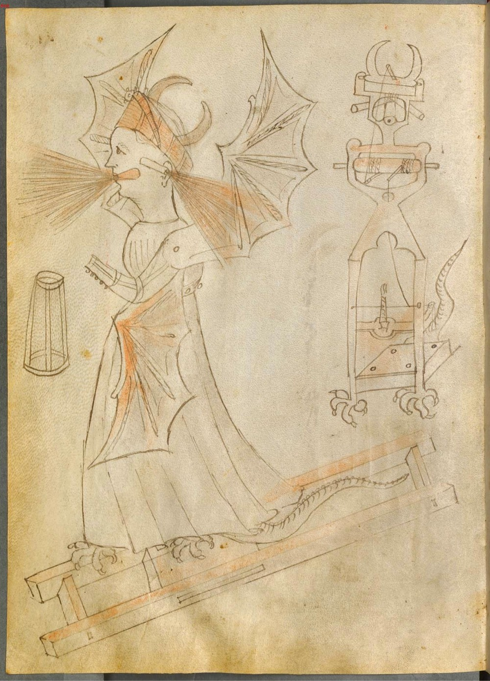 The Fantastical Drawings of an Inventive 15th-Century Italian Engineer
