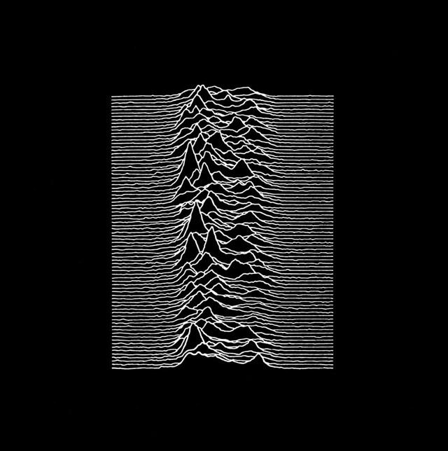 the origin of the joy division s unknown pleasures album cover art