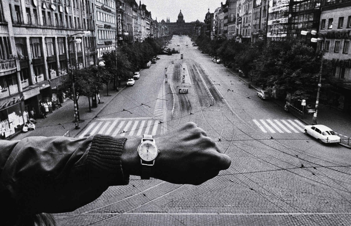 Koudelka Invasion Of Prague