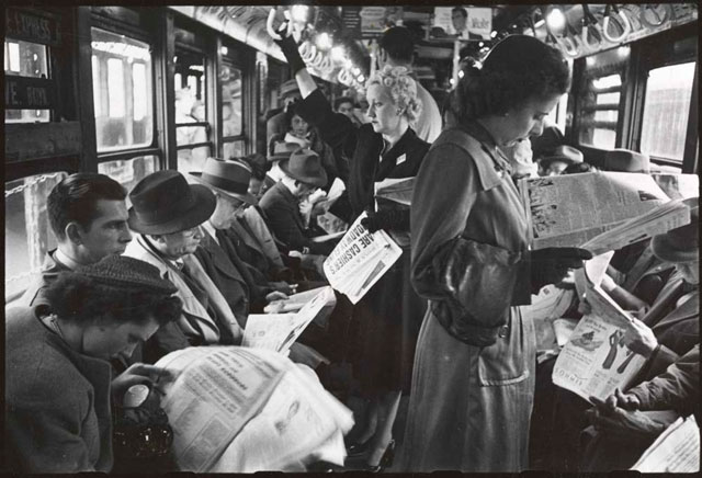 Kubrick Subway Newspapers