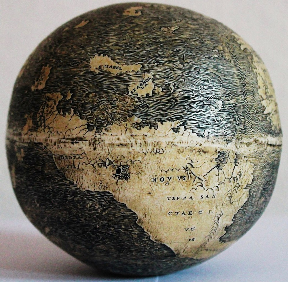 The Earliest Globe to Show the Americas May Have Been Made by Leonardo da Vinci in 1504