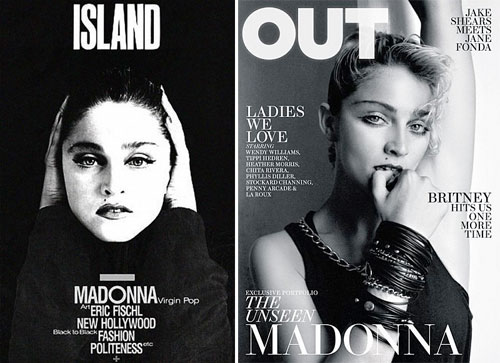 Madonna magazine covers