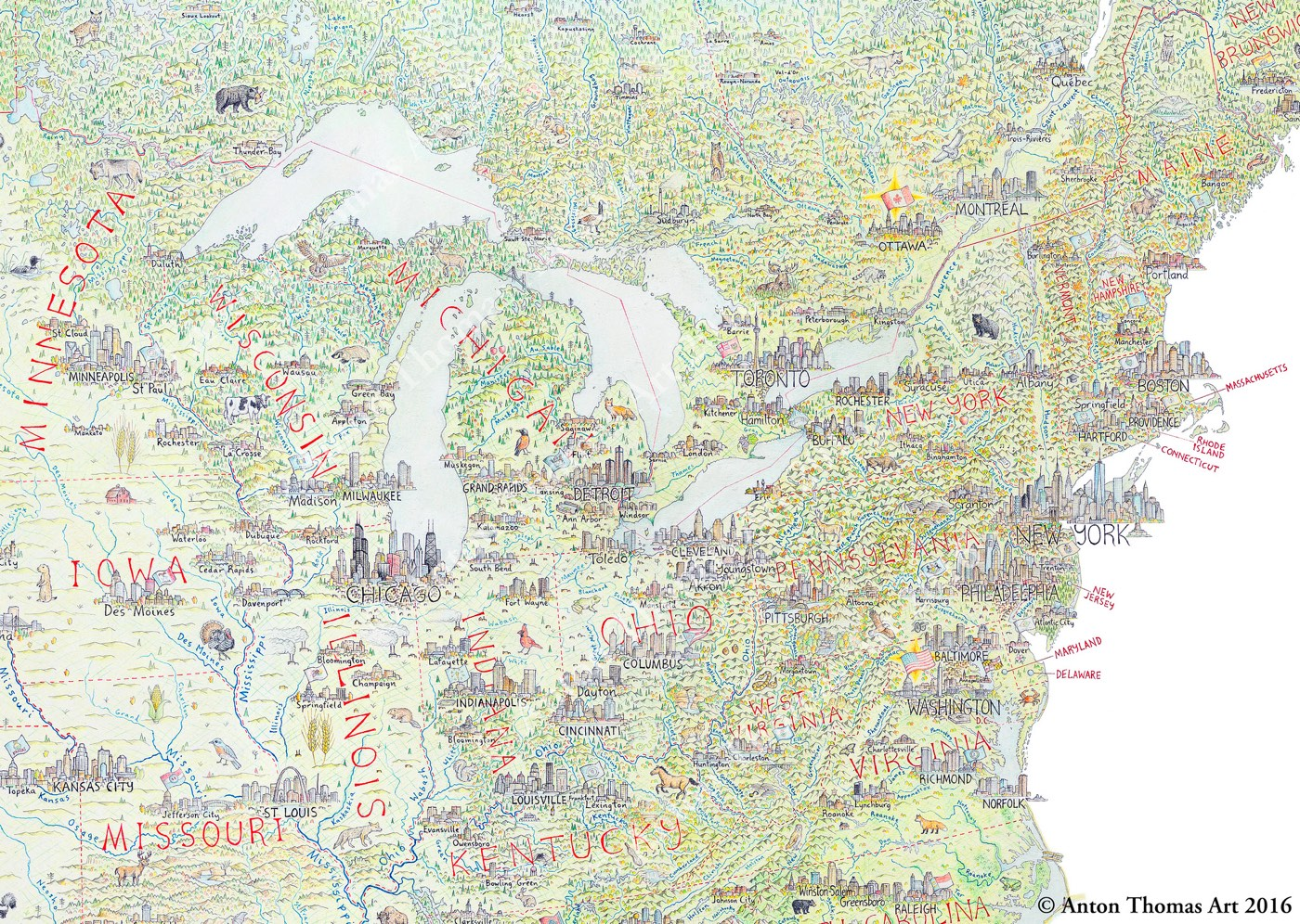 Maps 2016.The Best Maps Of 2016