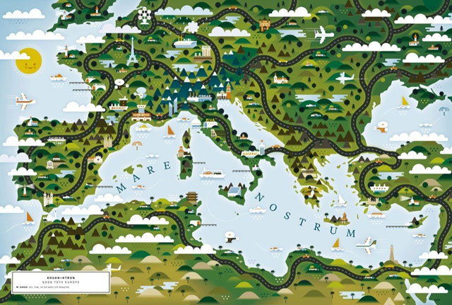 An atlas of world maps by illustrators and storytellers gumiabroncs Choice Image