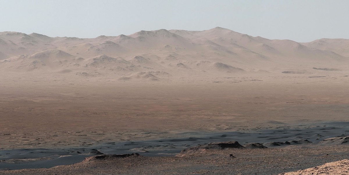 Mars Curiosity Photos