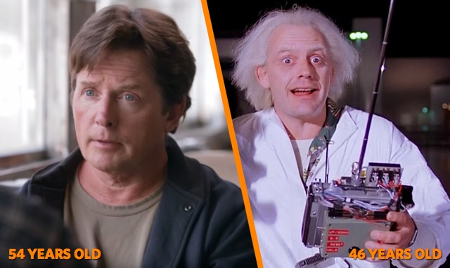 Marty Doc age BTTF