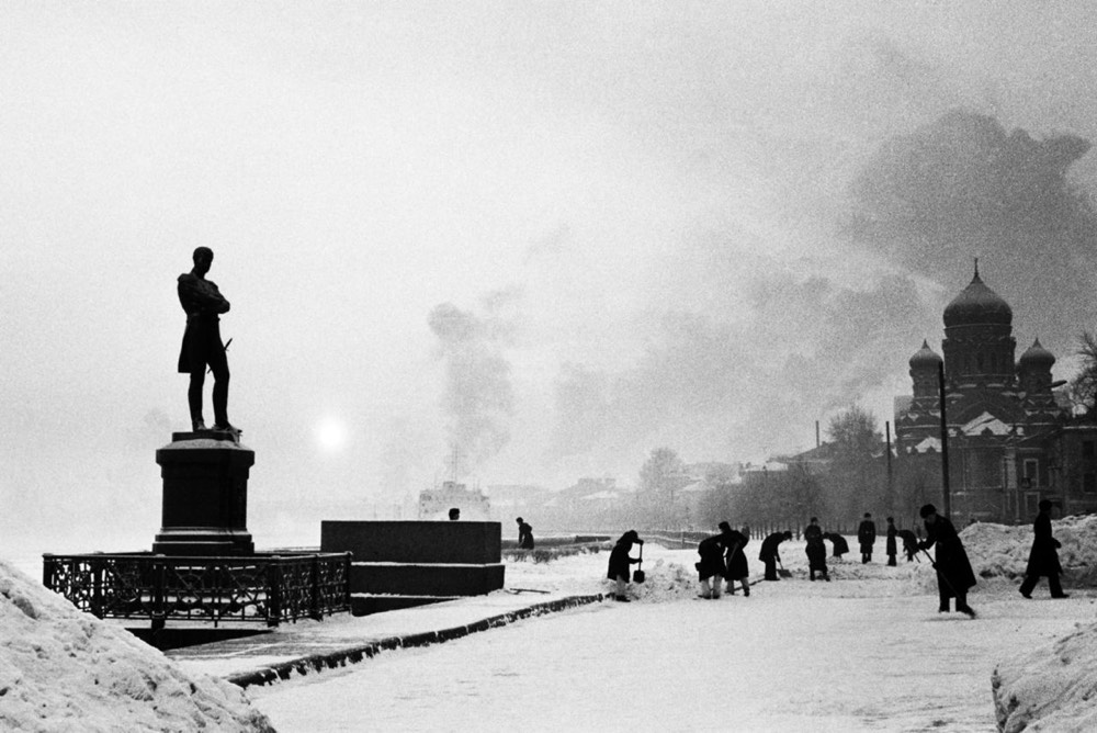 Unknown Soviet photographer left a huge cache of photos behind when she died