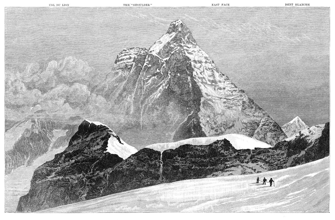 Matterhorn from near the Submit of Theodul Pass
