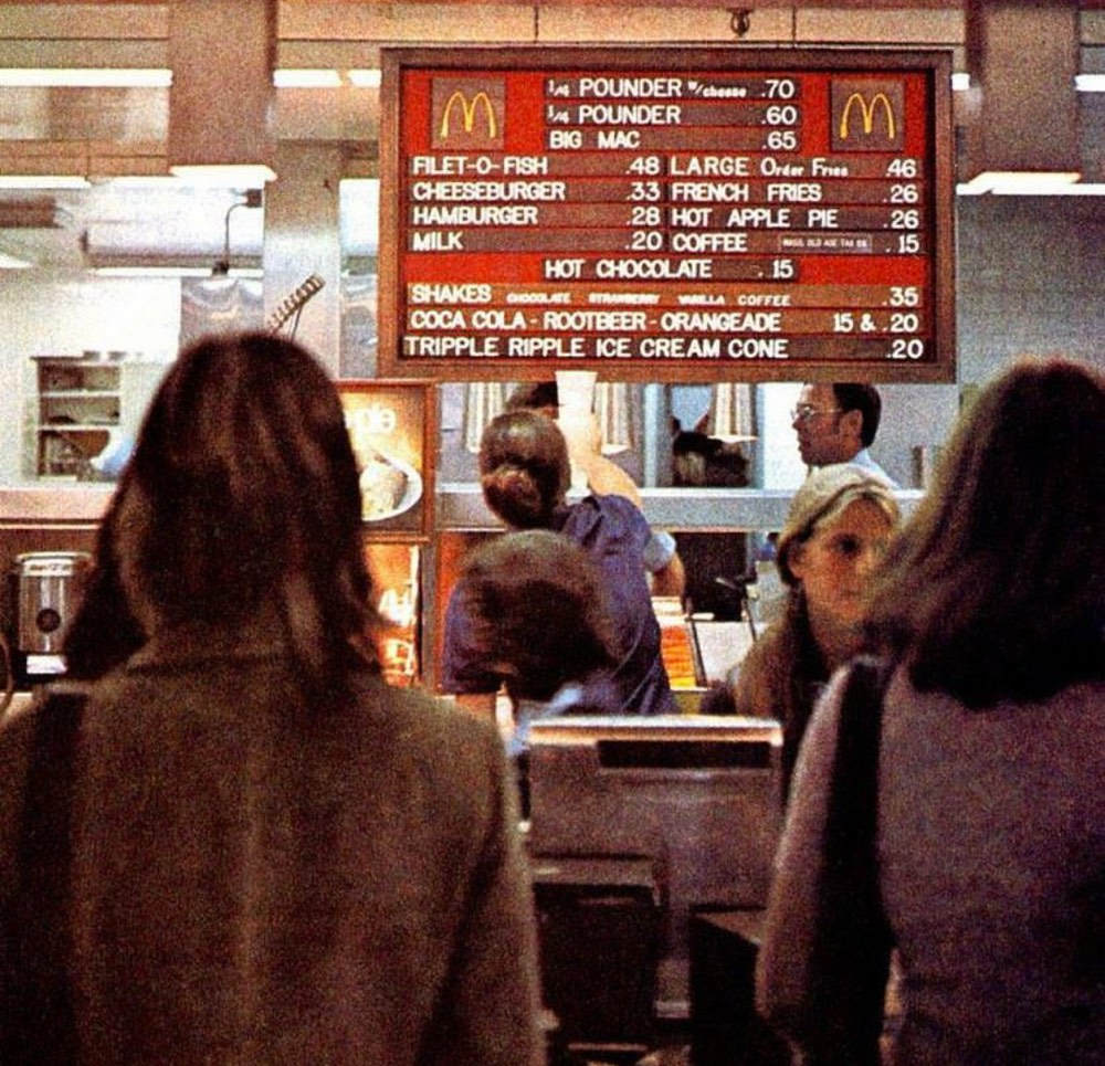 McDonalds 1974